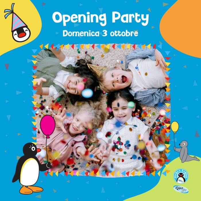 Opening Party ottobre 2021